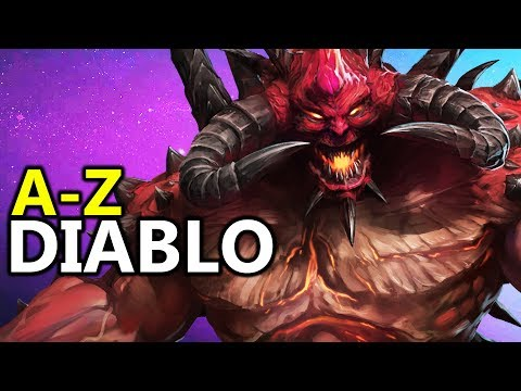 ♥ A  Z Diablo  Heroes of the Storm HotS Gameplay