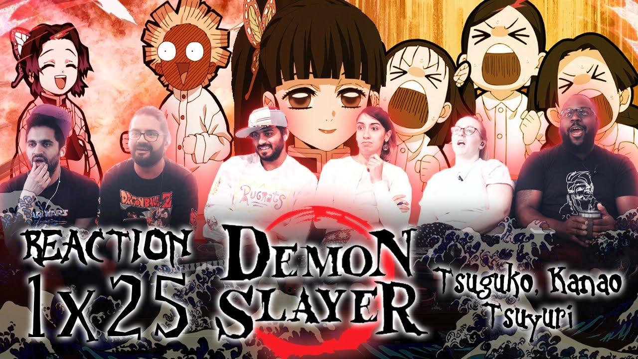 Download Demon Slayer - 1x25 Tsuguko, Kanao Tsuyuri - Group Reaction