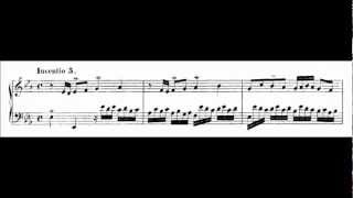 Invention 5 in E flat Major BWV 776 - Johann Sebastian Bach