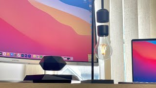 Tech lamp uses nothing but science to levitate
