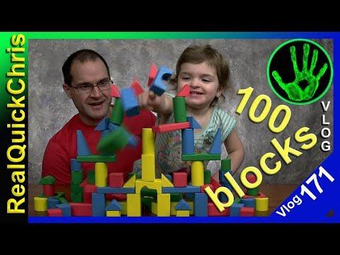 melissa and doug 100 wooden blocks vlog 171