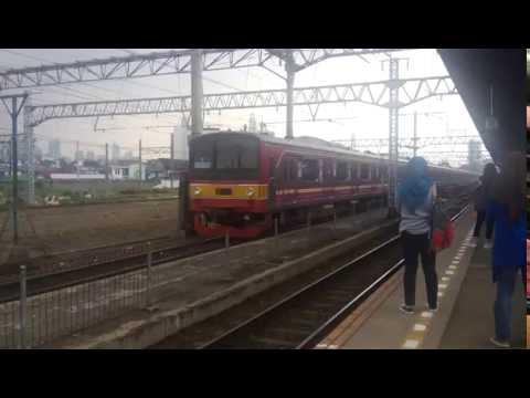 Trial Run: JR 205-143F Rangkaian12 Kereta Tanpa Kabin Tengah | Stasiun Manggarai