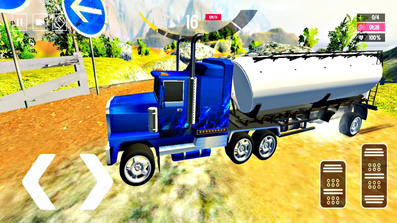 Driving Simulators - Oil Tanker Truck Driving - Car Driving Games - Android ios Gameplay