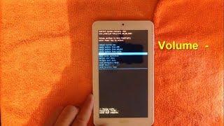 RESTAURACIÓN de FÁBRICA a Tablet Acer Iconia One 7, B1-770, Modelo: A5007, |2018|.