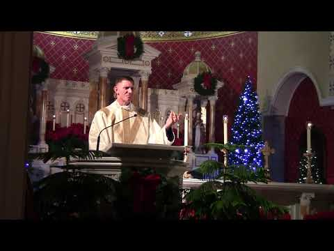 Father Tony Stephens, CPM, Solemn Holy Mass at Midnight Homily