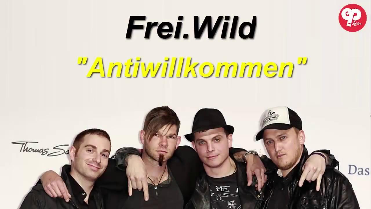 Frei.Wild Anti Willkommen