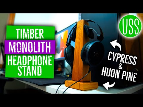 DIY Monolithic Headphone Stand: Woodworking