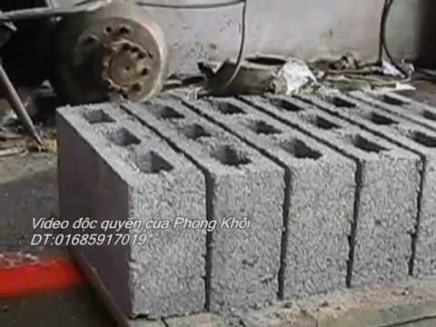 Máy ép gạch bê tông,gạch xi măng,gạch không nung,gach Block.