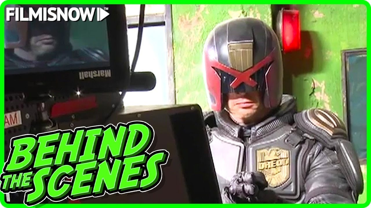 DREDD (2012) | Behind the Scenes of Karl Urban Action Movie