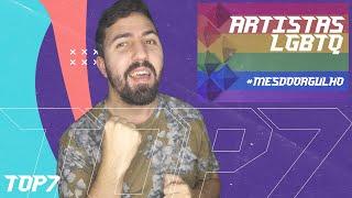 Baixar TOP 7 | ARTISTAS LGBTQ | MÊS DO ORGULHO