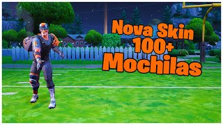 SHOWING A * NEW * SKIN BATON & 100 + BACKPACKS | FORTNITE
