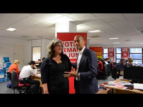 Labour IN for Britain phonebank | Chuka Umunna