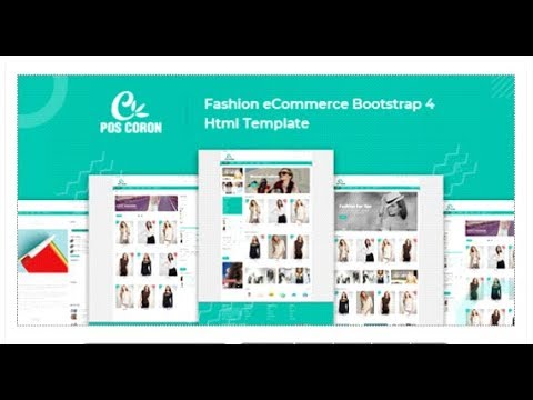 Coron – Fashion eCommerce Bootstrap 4 Template | Themeforest Templates
