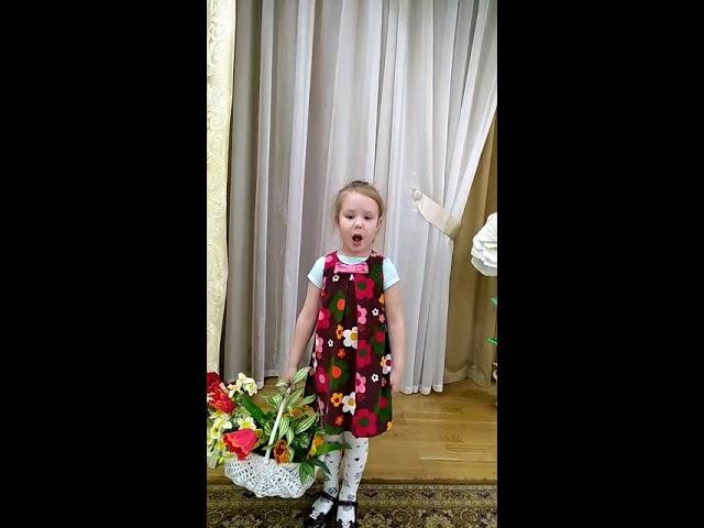 Изображение предпросмотра прочтения – ДарьяМашковцева читает произведение «Полюбуйся весна наступает» (Никитин Иван)