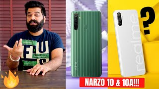 Realme NARZO 10 & NARZO 10A Launched - A Real Game Changer??? Best For Gaming??? My Opinions