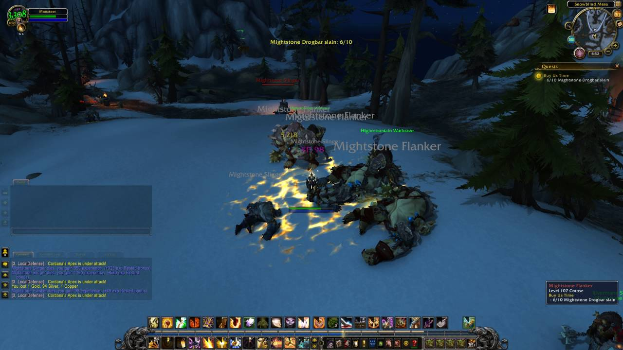 Legion Quest 213 Buy Us Time Wow Human Paladin Youtube