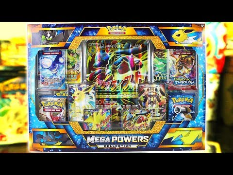 Opening A POKEMON MEGA POWERS COLLECTION BOX!
