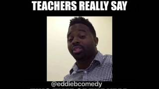 What public school teachers really say this time of the year