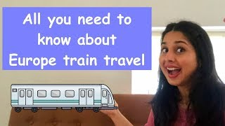 How To Travel Europe By Train | Europe Rail Pass | Travel From India | In Hindi screenshot 2