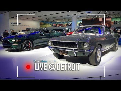 Ford Mustang Bullitt, come quella di Steve McQueen   Salone Detroit 2018