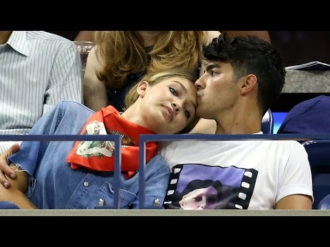 Joe Jonas and Gigi Hadid Spotted Making Out In Paris from YouTube · Duration:  59 seconds