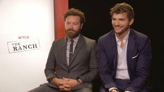 Ashton Kutcher and Danny Masterson on Reuniting For 'The Ranch' -- Will Mila Kunis Guest Star?