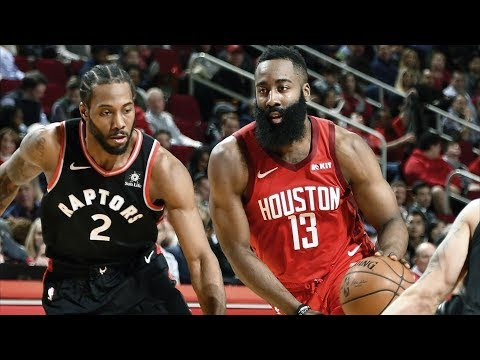 James Harden 35 Pts vs Kawhi Leonard 32 Pts! 2018-19 NBA Season