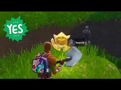 """Follow the treasure map found in Salty Springs"" Location Fortnite Week 3 Challenges Season 4!"