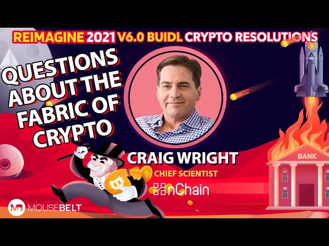 There Is No Innovation On Exchanges | Craig Wright - NChain | REIMAGINE v6.0 #1