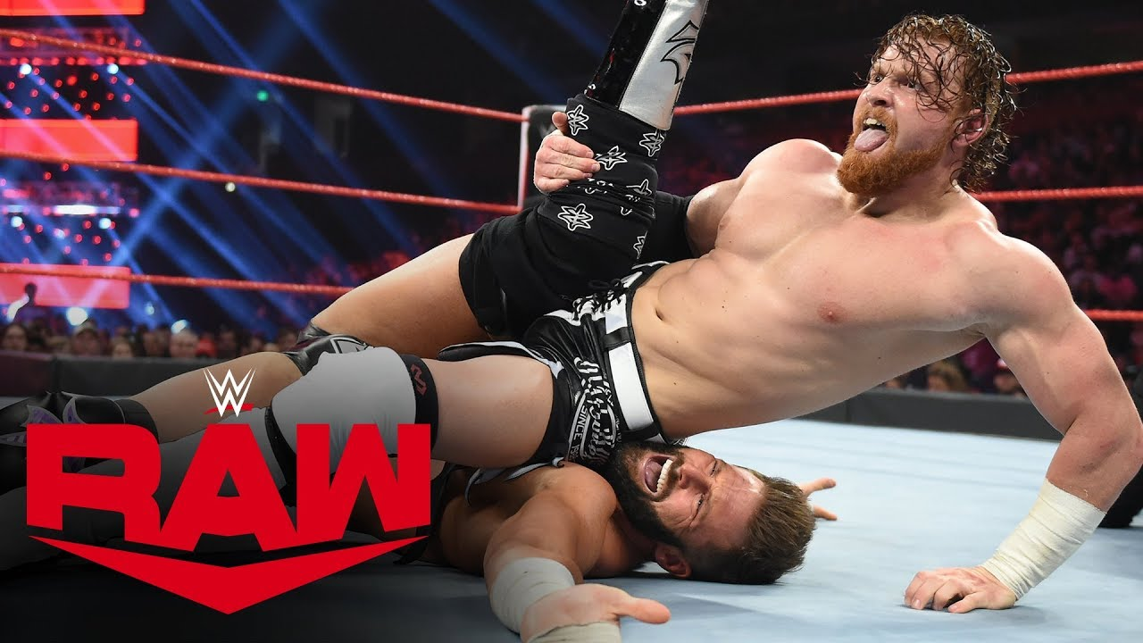 Zack Ryder vs. Buddy Murphy: Raw, Dec. 9, 2019