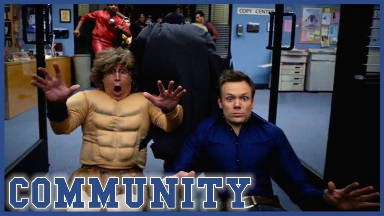 Batman Saves The Party | Community
