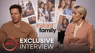 INSTANT FAMILY Interviews (Mark Wahlberg, Rose Byrne)   AMC Theatres (2018)