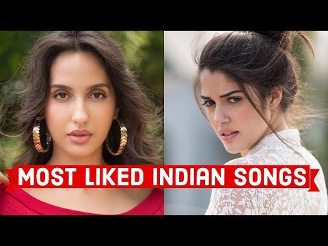 Top 25 Most Liked Indian/Bollywood Songs of All Time on Youtube | Hindi Punjabi Songs