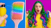 COOLE BEAUTY HACKS FÜR MÄDCHEN || Clevere DIY Beauty-Hacks für Mädchen