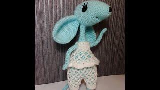 Мышка, ч.1.  Mouse, р.1.    Amigurumi. Crochet.