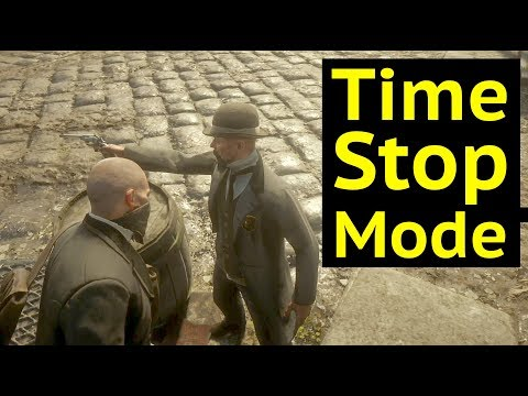 Time Stop Mode in Red Dead Redemption 2 (RDR2): No People, Stop Time, Visit Blackwater Early thumbnail