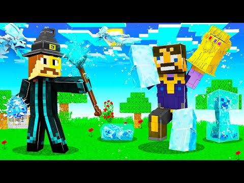 The MOST OVERPOWERED ICE WIZARD in Insane Craft!