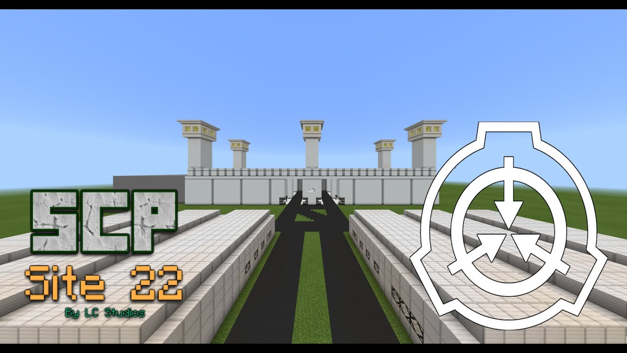 SCP Site 22 (Early Development) [Minecraft BE/PE]