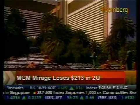 MGM Mirage Loses $213 Million - Bloomberg