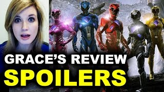 Power Rangers SPOILERS Movie Review