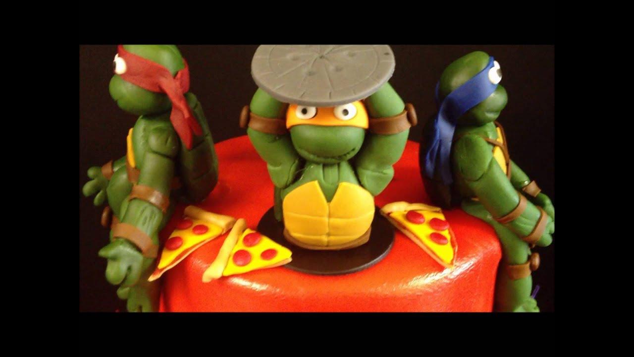 Teenage mutant ninja turtles cake youtube