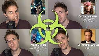 20 SICK IMPRESSIONS! (Megatron, Solid Snake, Liam Neeson)