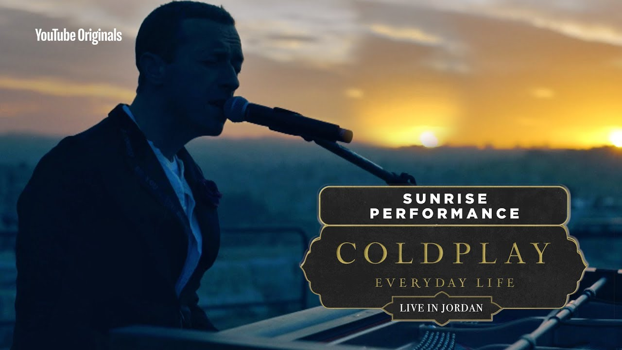 Watch the Livestream of Coldplay's 'Everyday Life' Concert in Jordan