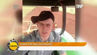 Titulares de la jornada: Piden por secuestrados