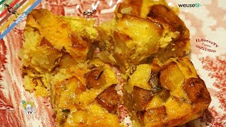 101 - Tortino di porri e patate...e un buon anno cominciate!!(antipasto vegetariano facile e veloce)