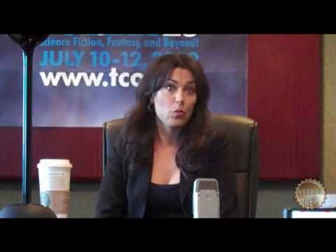 Michelle Forbes at Polaris 2009 Pt 01