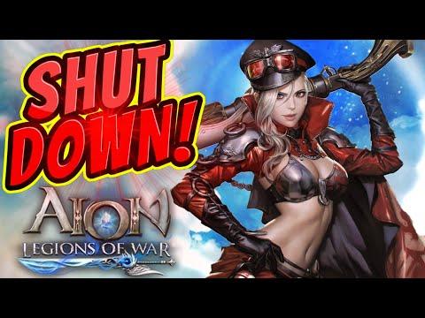 SHUT DOWN! (June 19th 2020) : Aion Legions Of War
