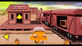 Monkey Go Happy Western 2 walkthrough