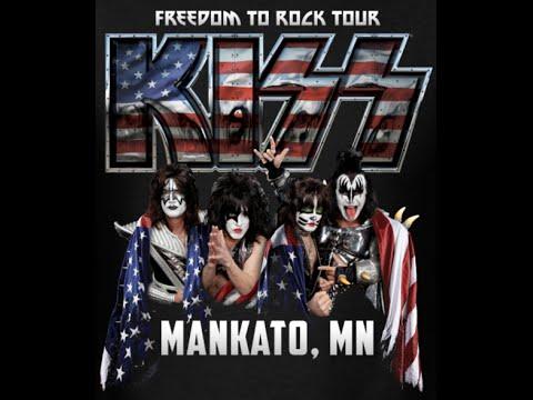 KISS  mankato mn  full concert  812016