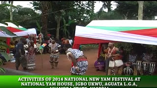 IGBO UKWU CULTURE: NEW EGEDEGE DANCE GROUP